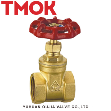 brass internal thread wheel handle forged brass gate valve