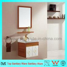 Single Sink Bathroom Vanity Cabinet for European Market