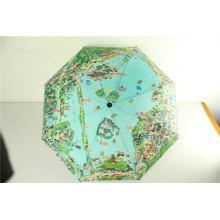 3 Folding New Design Automatic Map Umbrella