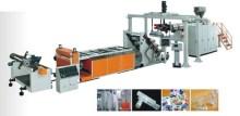 Transparent PVC film extrusion production line