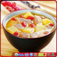 Delicious goji dried goji berries fresh goji anti-aging food