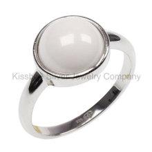 Silberne Schmucksachen, keramische Schmucksachen, Schmucksache-Ring (R21195)