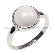 Jóia de prata, jóia cerâmica, anel da jóia (R21195)