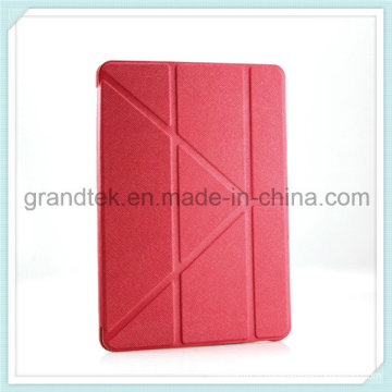PU cuir pour iPad Slim Smart Cover avec support