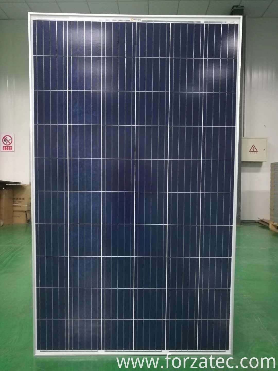 updated poly solar panel