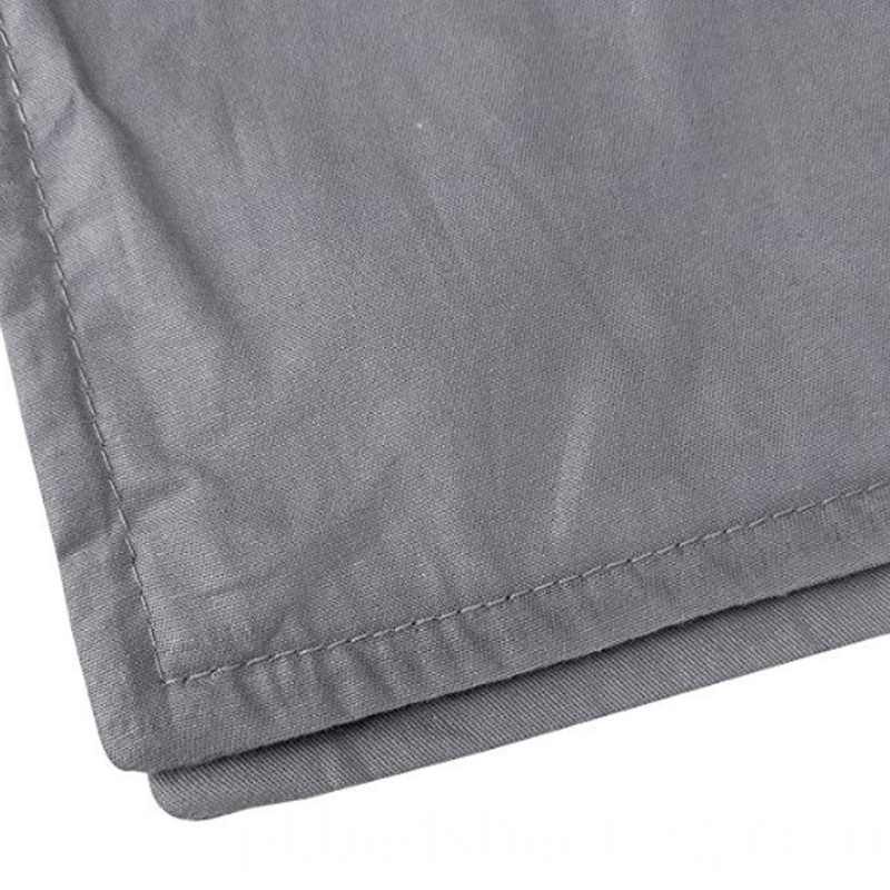 Organic Cotton Duvet Cover Hem