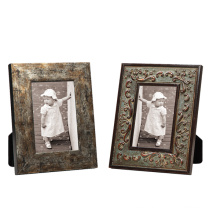 Solid Wood Antique Picture Photo Frame / Gesso Photo Frame