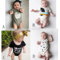 2017 organic strech cotton infant baby bubble romper