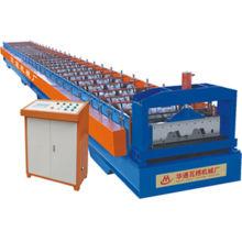 Sheet Metal Floor Decking Roll Forming Machine / Roof Panel Machine