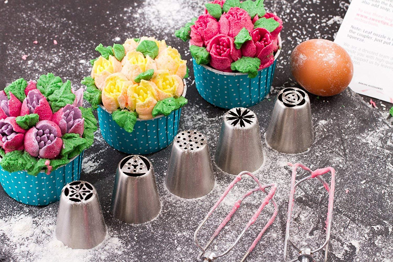 cake decorating nozzles
