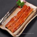 anguille fumée rôtie congelée