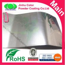 Revestimento em pó de prata cromado decorativo para pulverizar boa qualidade de superfície metálica