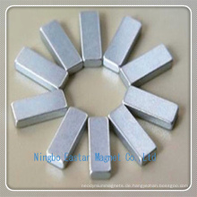 N38 Zink Überzug Neodym Stabmagnet