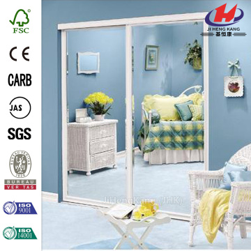 JHK-G01  Flush Half Fog Glass Double Door