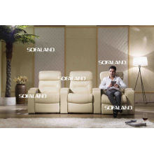 Home Cinema Sofá de cuero 795 #