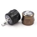 Smoke grinder 63mm super good quality four-layer hand-cranked aluminum metal grinder smoking accessories