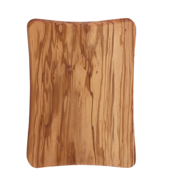Tabla de cortar de madera rectangular