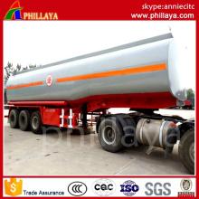 Remolque del tanque de combustible pequeño del acero de carbono con el volumen Opptional