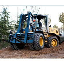 10 ton 4 wheel drive rough terrain forklift