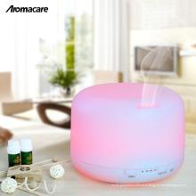Aromacare 500ml Ultrasons Diffuseurs d'huile essentielle Blanc Humidificateur Spa Décoration de la maison