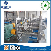 Suqian city supermarket goods shelf gondola panel roll forming machine