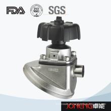 Válvula de membrana inferior do tanque de aço inoxidável (JN-DV3001)