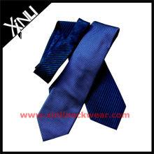 Gravatas plissadas de seda de alta qualidade
