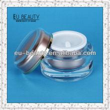 Cosmetics cream jar acrylic empty jars plastic cosmetic packaging 30g