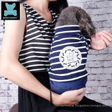 Atacado China fornecedor Bone puppy stripe dog jumper