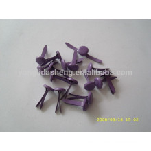 Alibaba supplier wholesale fashion style paper fastener brad