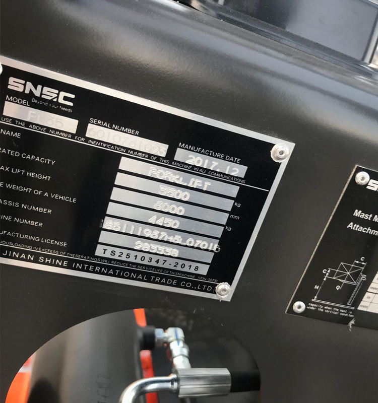 China Snsc Forklift