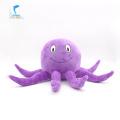Different size purple octopus plush stuffed animal toy
