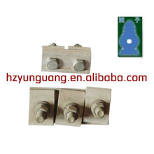 линия оборудования линия электропередач сторона кабель параллельного-образной струбцины штуцера