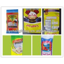 25kg bopp laminado pp tecido saco de arroz