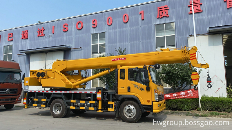 16t truck crane5