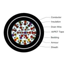 PAS / BS5308 PVC Mantelkontrolle und Instrumentierung Kabel