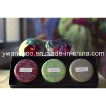 @Christmas Seriess Lemongrass Soy Wax Natural Scented Tin Candle Candle