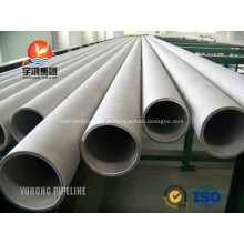 Tubulação de aço inoxidável Duplex S31803 ASME SA790