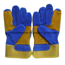 Cow Split Leather Working Glove Made in Gaozhou China