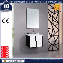 Vanités de salle de bain petite taille avec poignée en forme de courbe