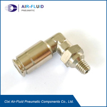 Air Fluid Lubrication Rotable Pushin Elbow Fittings .