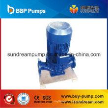 Modèle de pipeline vertical: Pompe centrifuge à eau claire