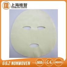 China Lieferant fertigen 100% Baumwollmaskenblatt für persönliche Gesichtspflege besonders an