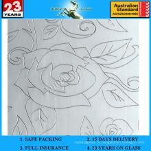 3-6мм АМ-65 декоративное Кисловочное Травленое матовое художественного архитектурного зеркало