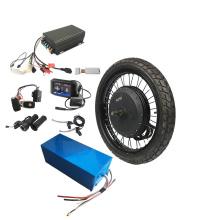 QS 273 Hub Motor 8000Watt electric bicycle wheel conversion ebike kit with battery
