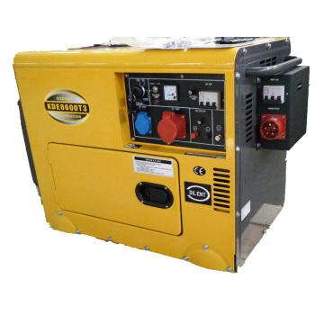 Silent Air-Cooled Diesel Generator