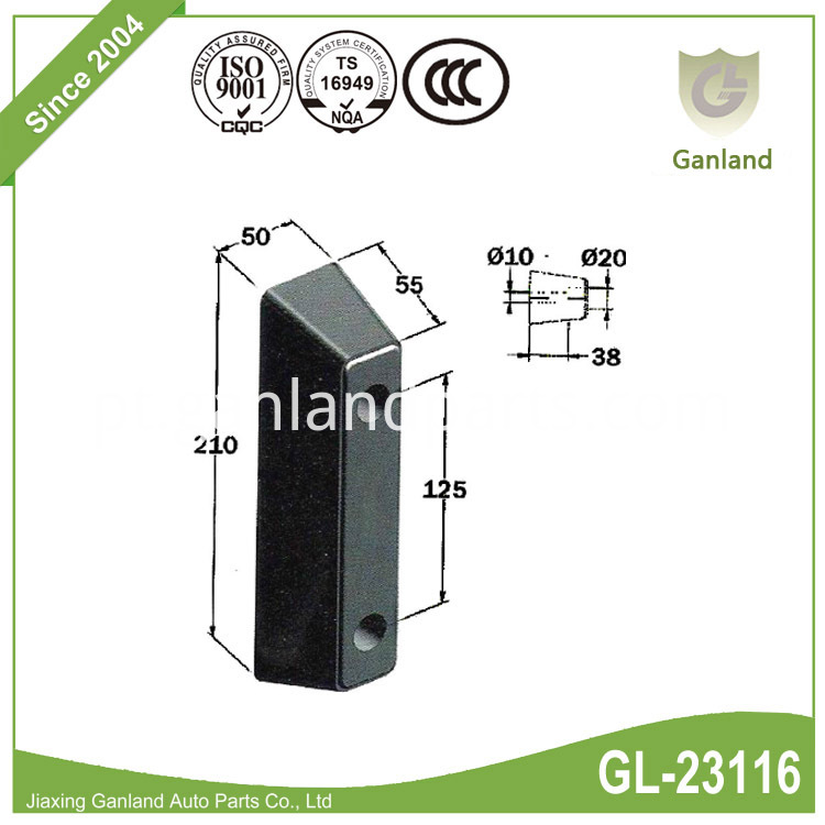 Rubber Dock Bumper GL-23116