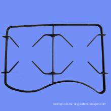 Две Горелки Плита Плита Газовая Эмалированные Решетки