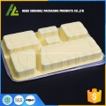 6 compartment disposable food tray