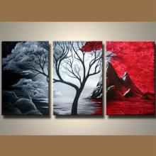 Handmade Oil Painting Reproduction on Canvas